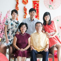 Chinese New Year Family Portrait ( 5pax )