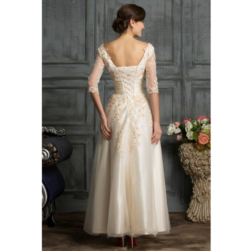 Embroidered Floral Lace Mother Of The Bride Groom