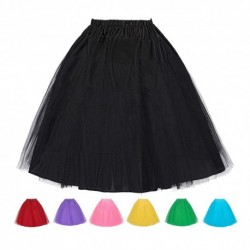 Retro 3 Layers Petticoat Underskirt (7 Colors)