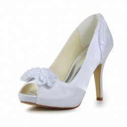 Vanessa Flower on Top Wedding Shoes