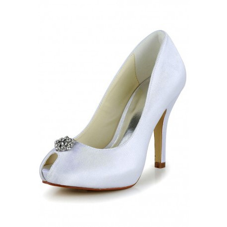 Macy Pointed Flower Wedding Shoes