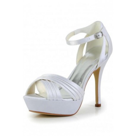 Jive Strappy Wedding Shoes
