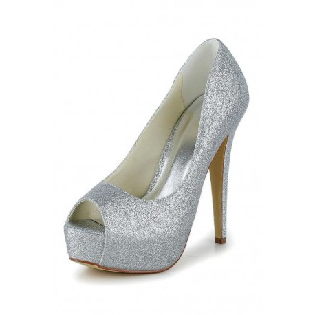 Andrea Platform Wedding Shoes