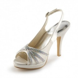 Sechium Slingback Wedding Shoes