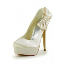 Mearan Satin Ribbon Wedding Shoes