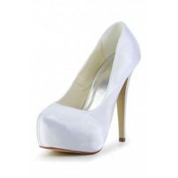 Catalina Platform Pump Wedding Shoes