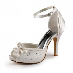 Ankle Strap Wedding Shoes ( Changepic )