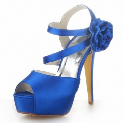 Beverly Peep-Toe Wedding Shoes