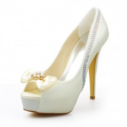 Jubilee Peep-Toe Wedding Shoes