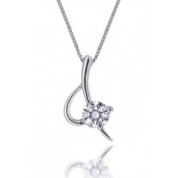 Kelvin Gems Premium Eternal Blade Pendant Necklace