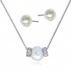 Kelvin Gems Basic Glam Clusterv Fresh Water Pearl Gift Set Crafted by Angie