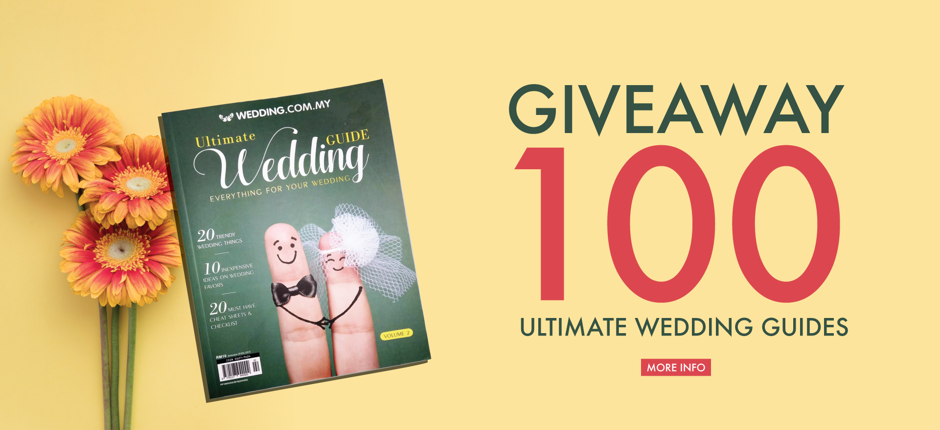 GET YOUR FREE 2018 WEDDING ULTIMATE GUIDEBOOK