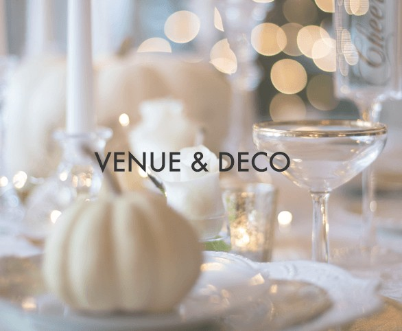 Catagories Venue&Deco