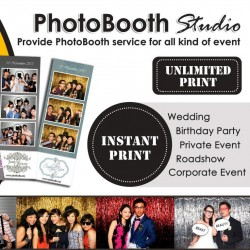 Photobooth Rental with Unlimited Photo Printing