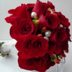 Summerpots Bridal Bouquet - Intense Rouge