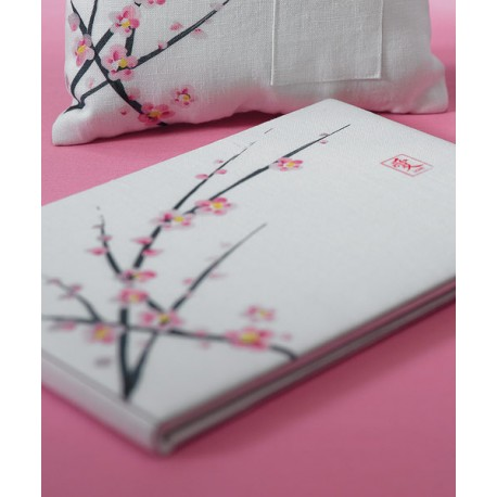 Typical Wedding Gift Card Amount : Home > Gifts & Cards > Cherry Blossom Traditional Wedding Guest Book